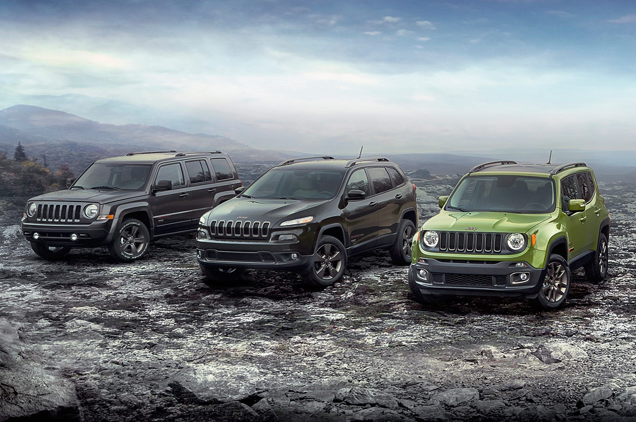 Great Jeep Lineup