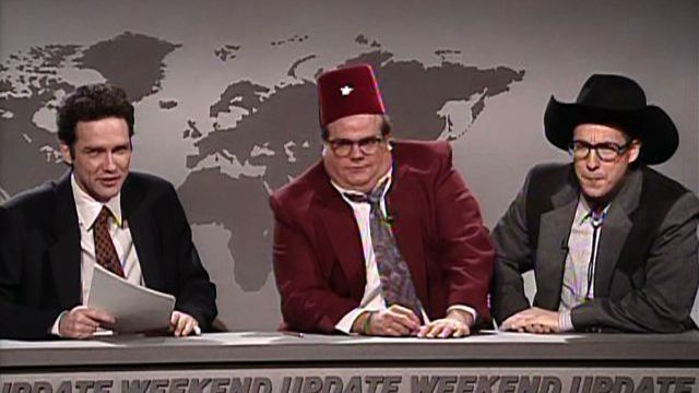 Weekend Update: Frank Dippy and Hank Doodle on World Events 3/18/1995
