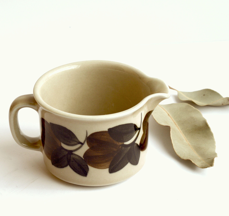 Bloomingville Beige Stoneware Creamer