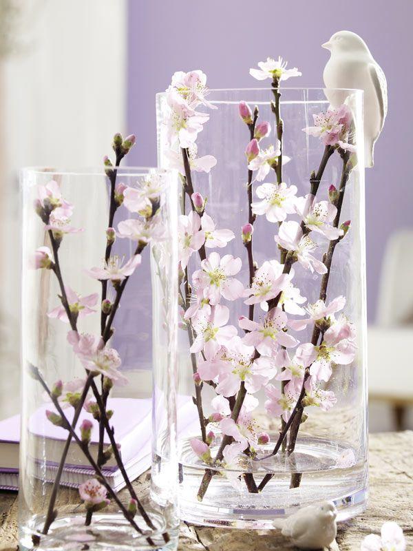 Zweig Dekoration Selbermachen Wohnungdeko Pinterest Flowers