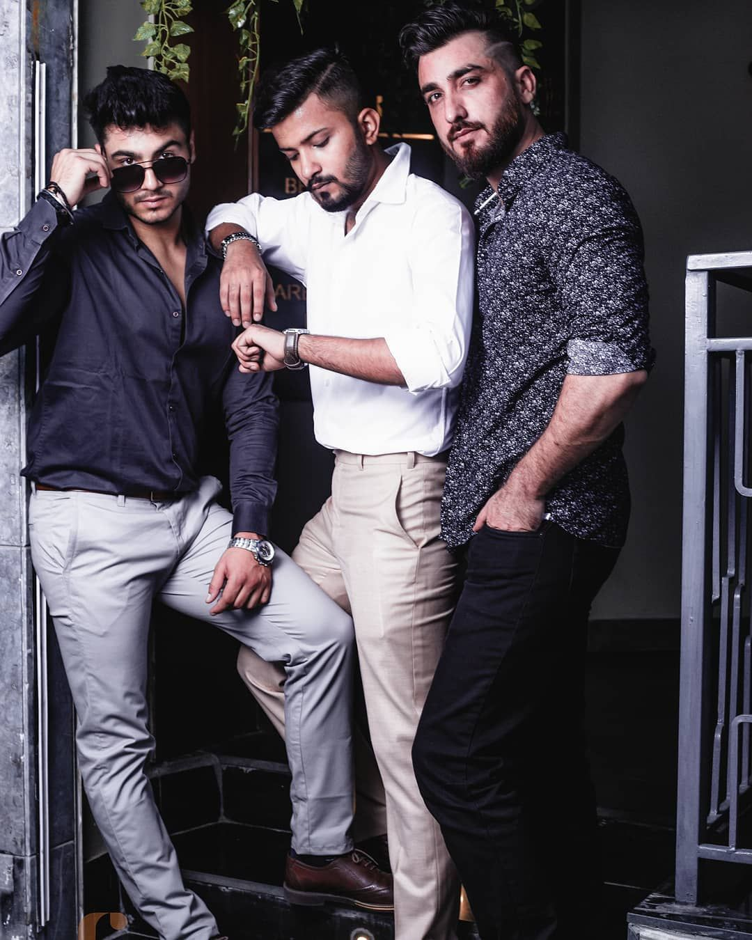 🖤🖤🖤 brocode .. . .. In frame @rishhlife  @aamir_khhan @thedapperballer . Concept by: @tania_mukhi . Captured by: @pramstrytlr . Makeup, Hair & Styled by:@glamorousyouacademy .