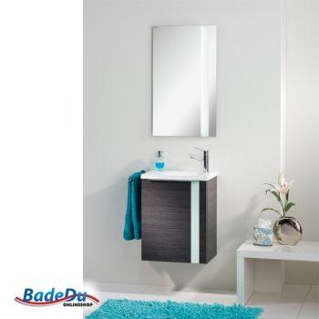 Gäste WC Set (3 Teilig): LED Spiegel, Waschtisch U0026 Waschtischunterschrank