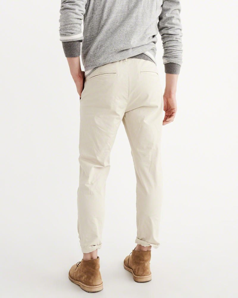 01a5e849c Mens Cropped Dress Pants White | Saddha
