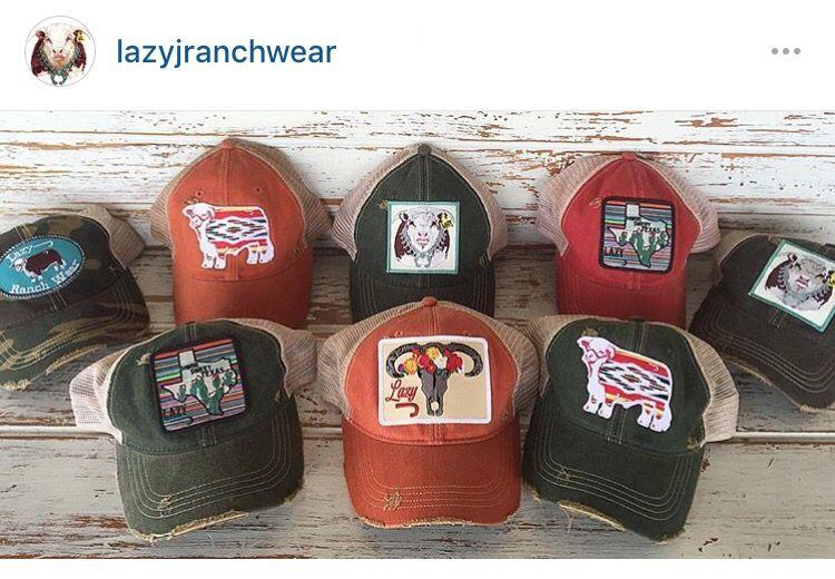0d5c12380ee Lazy J Ranch Wear hats
