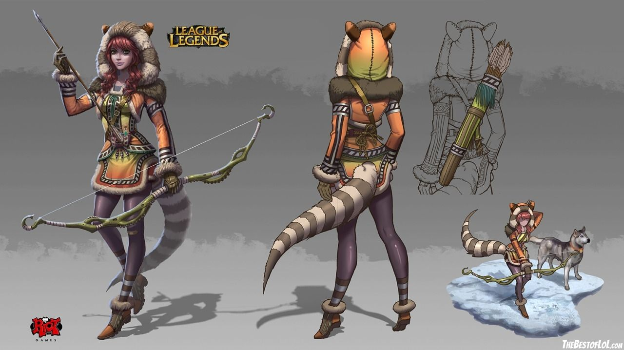 Character Design League Of Legends : Vi skin concept google zoeken lol concepts
