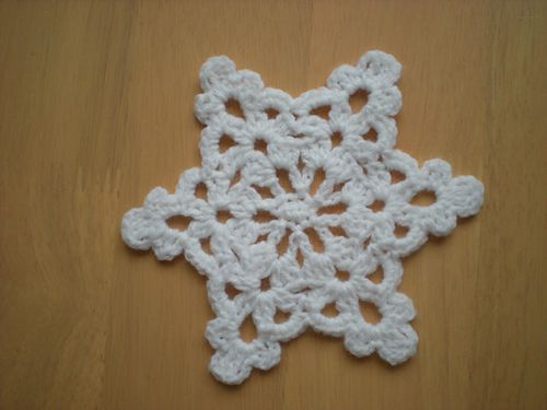 Easy To Make Snowflake Star Pattern By Emmhouse Crochet Christmas