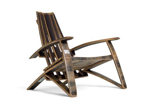Superieur Bourbon Chair   Made With Bourbon Barrels