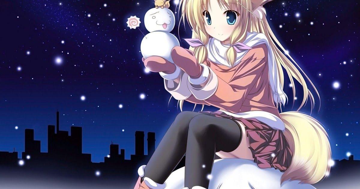 Pin On Anime Lover Christmas anime wallpaper 1920x1080