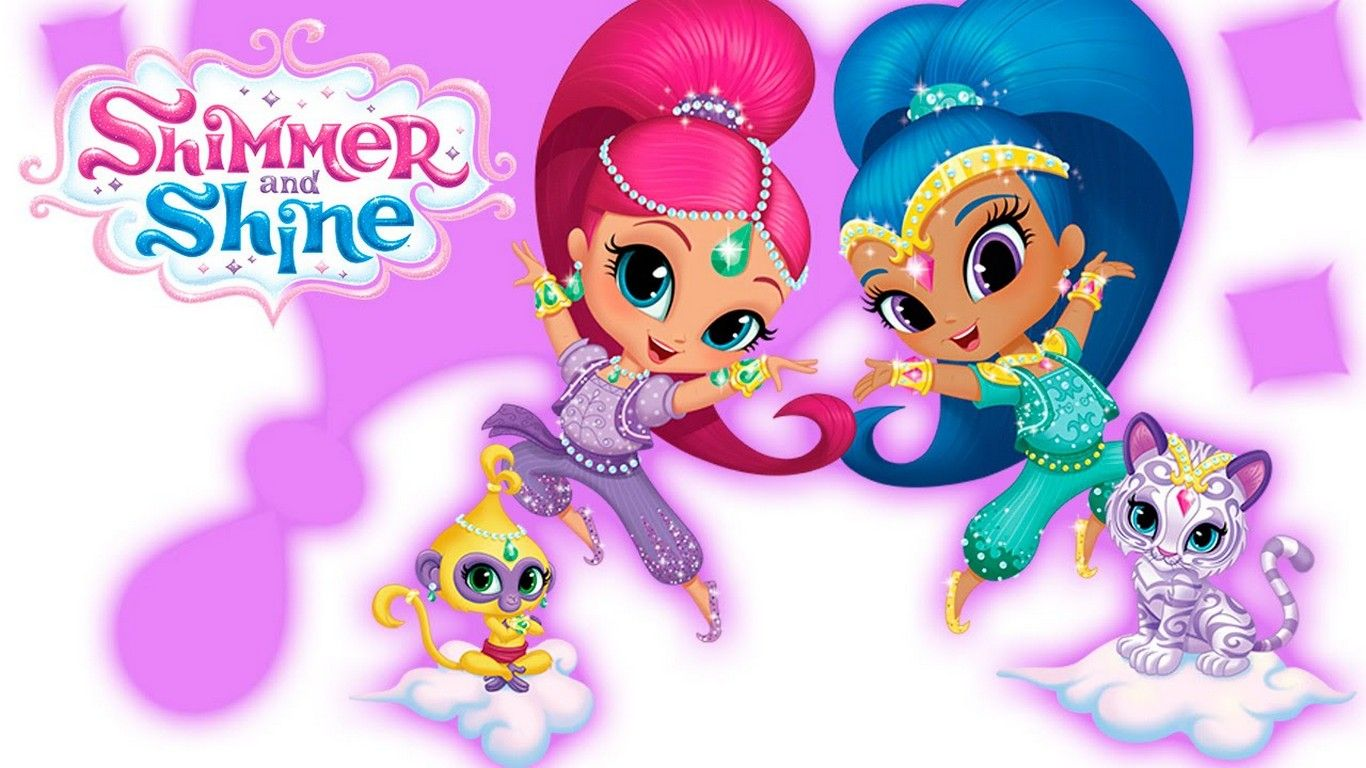 Shimmer and Shine characters Funny Cartoon Pics