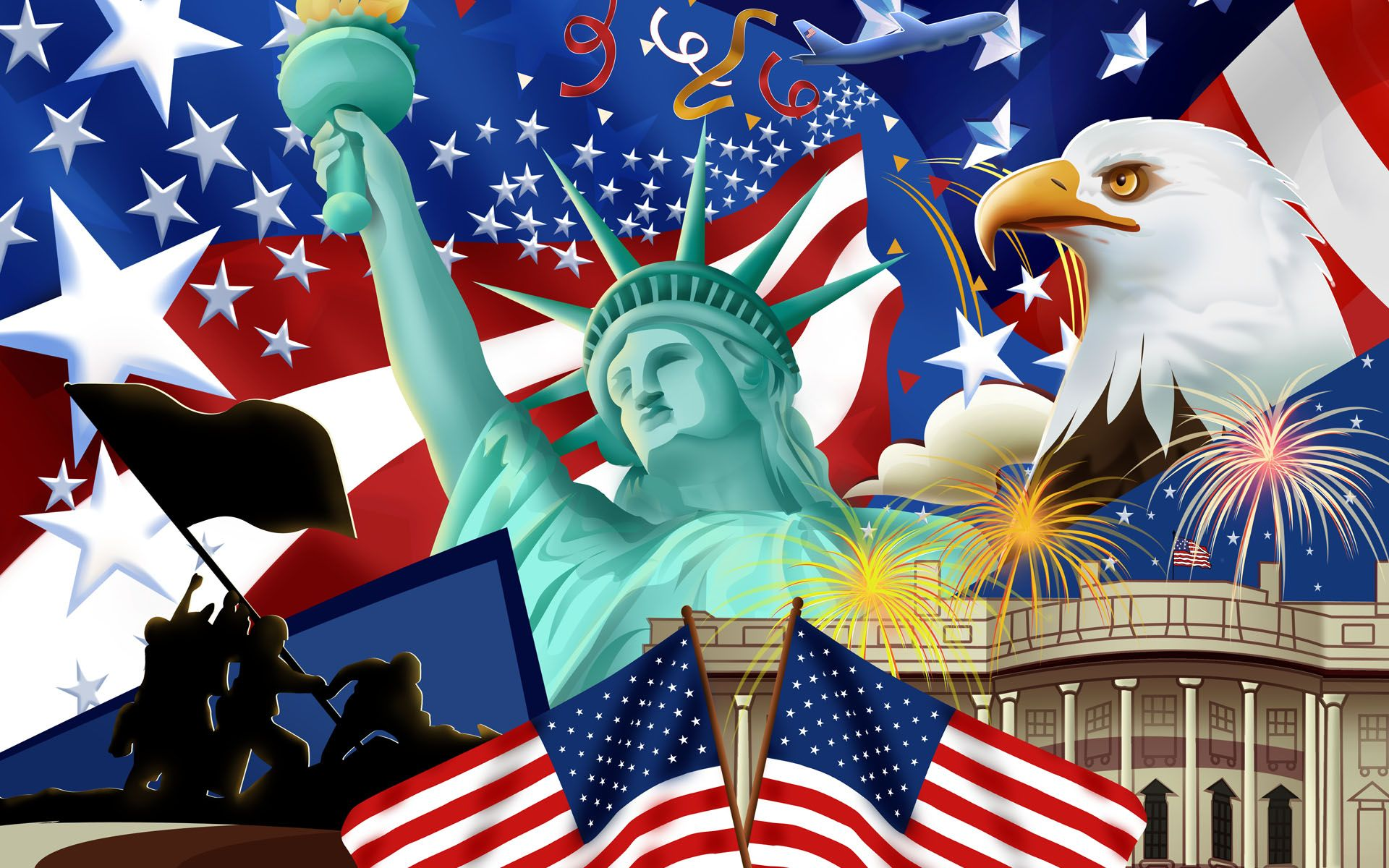 United States Of America Wallpaper Independence Day Independence Day Wallpaper Happy Memorial Day Independence Day