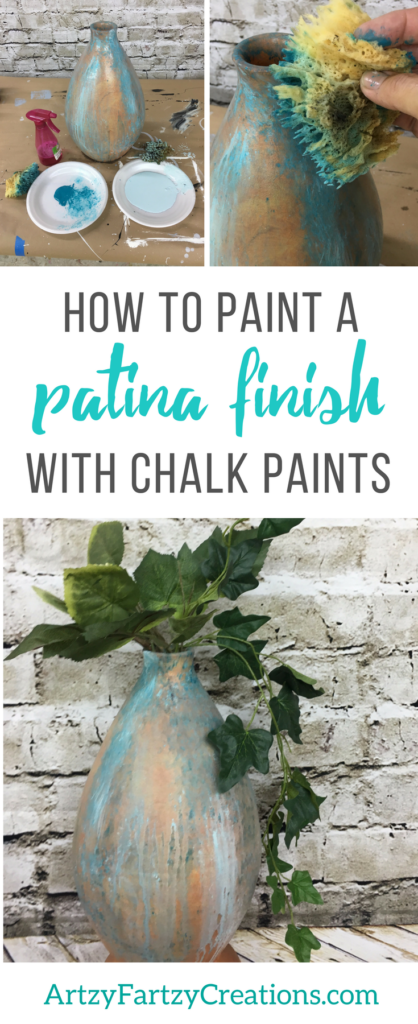 How To Paint An Authentic Patina Finish With Chalk Paints