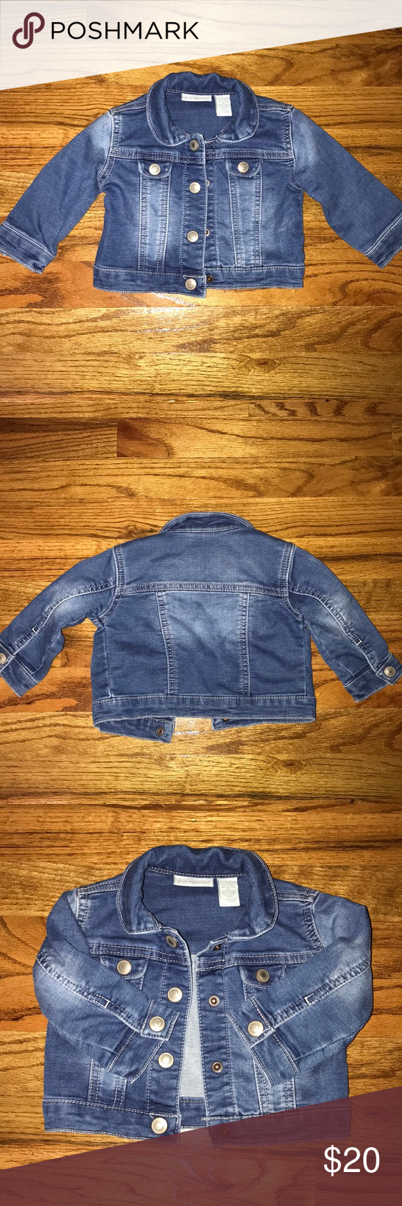 ed044f5c First Impressions baby girl jean jacket 💕 First Impression baby girl jean  jacket. Excellent condition, worn only once. Size 3-6 months.