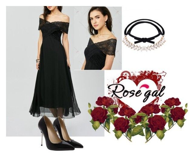 """Rosegal 69: That Dress"" by die-ammy ❤ liked on Polyvore"