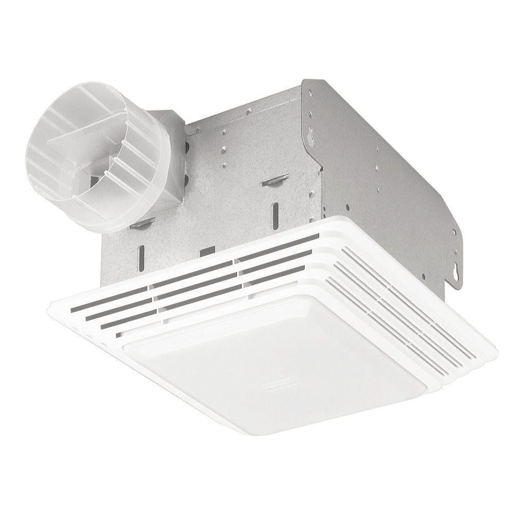 50 Cfm Broan Ventilation Fan Light Combo Quiet Bathroom Ceiling Toilet Vent New