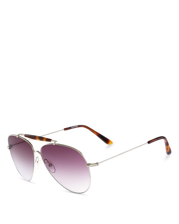 6312dfbcd130 Valentino Mirrored Aviator Sunglasses