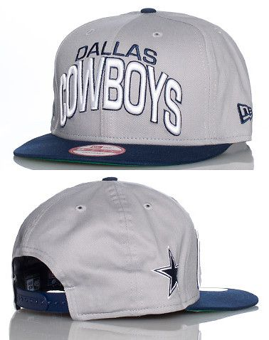 0882f7414ff NEW ERA Football snapback cap Interchangable snaps included Adjustable  strap on back of hat for ultimate comfort Embroidered Dallas Cowboys team  logo