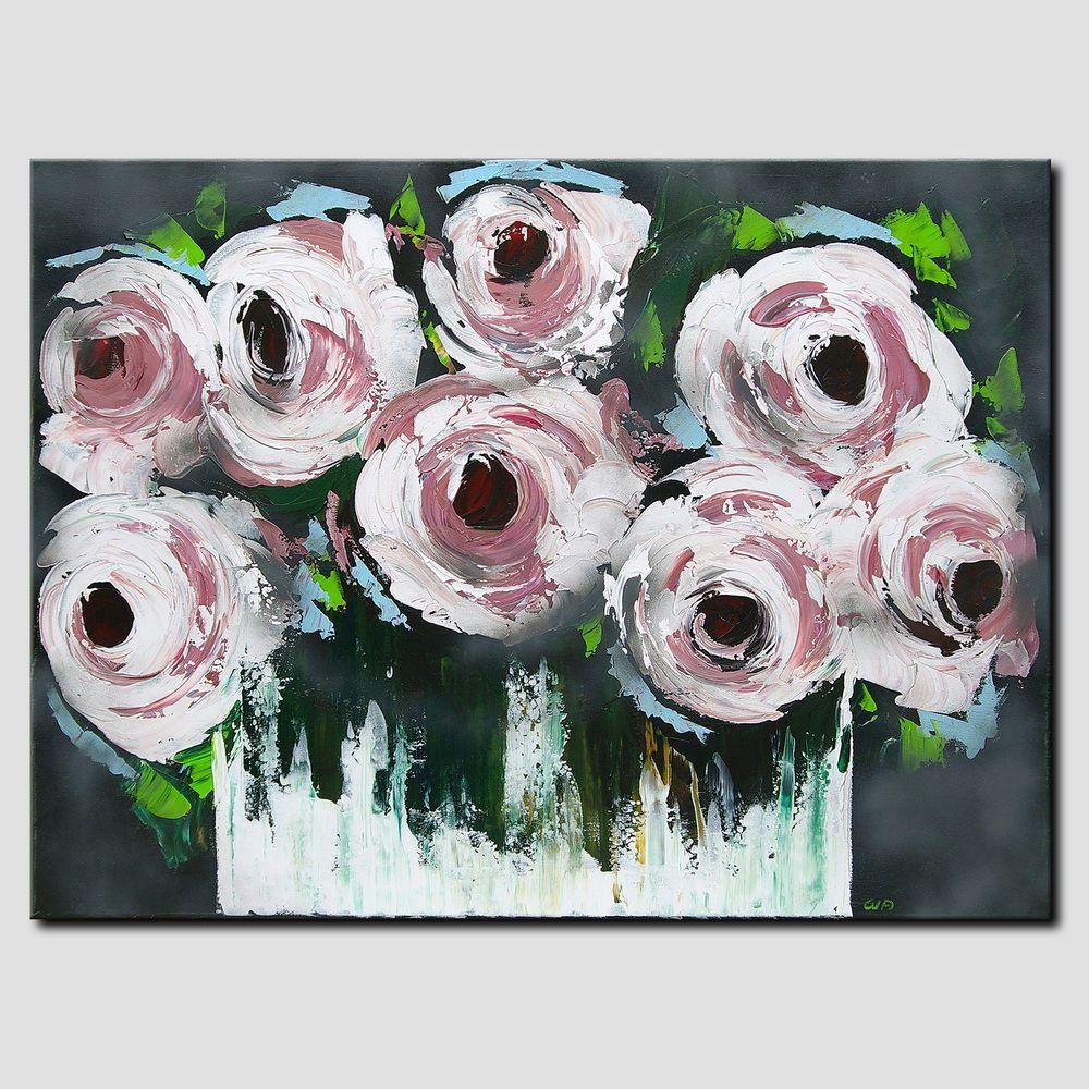Novaarte Acryl Gemälde Abstrakt Malerei Acrylbild Modern