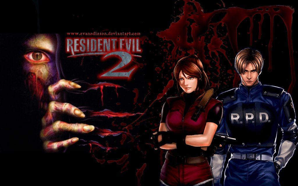 Resident Evil 2 Claire Resident Evil 2 Claire And Leon By