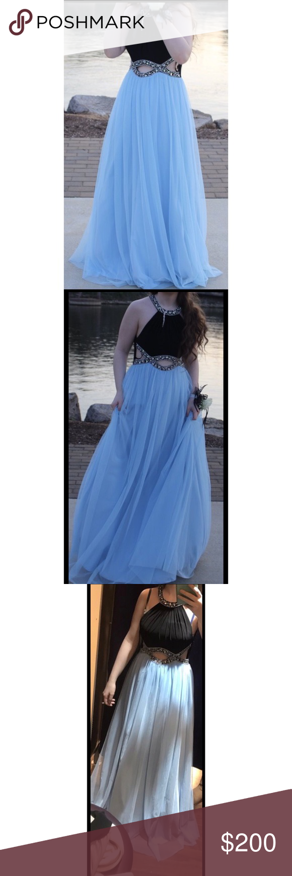 Windsor prom dress prom dress bought in april worn once and is in