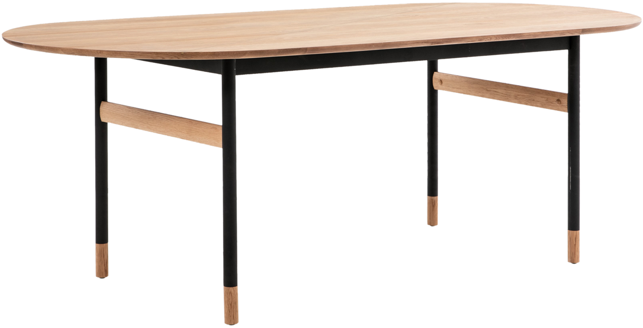 Brasilia Oval Dining Table In 2020 Oval Table Dining Oval Dining Room Table Scandinavian Dining Table