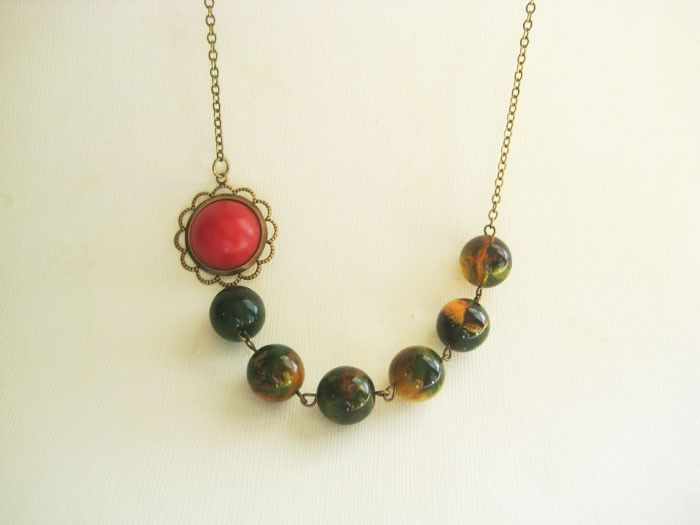 Fall Collection: Aspen necklace $23.00