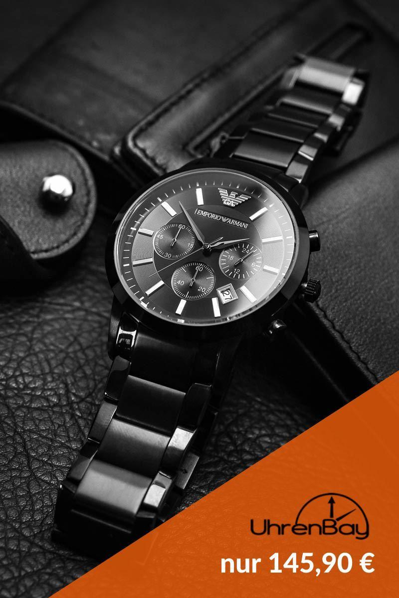 Emporio Armani AR2453 Herrenuhr Chronograph