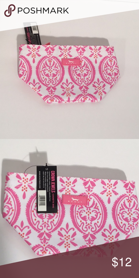 Scout Crown Jewels Cosmetic Bag Scout Pink Crown Jewels