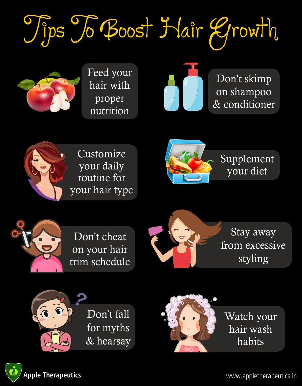 Supplement for Hair Growth} and Tips To Boost Hair Growth.!! #AppleTherapeutics #haircare #haircaretips #haircareroutine #hairgrowth #shampoo #trichology #haircareproducts #winterhaircare #hairgrowthshampoo #shampoo #hairoil #hairregrowth #winterhaircaretips #beautytips #healthyhairs