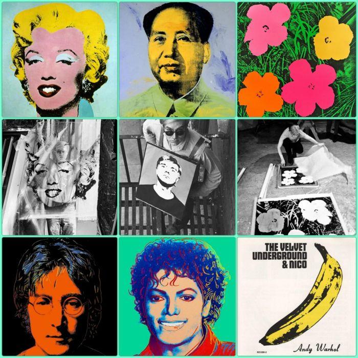 Andy Warhol Beruhmteste Werke Und Kurzbiographie Art Art Andy