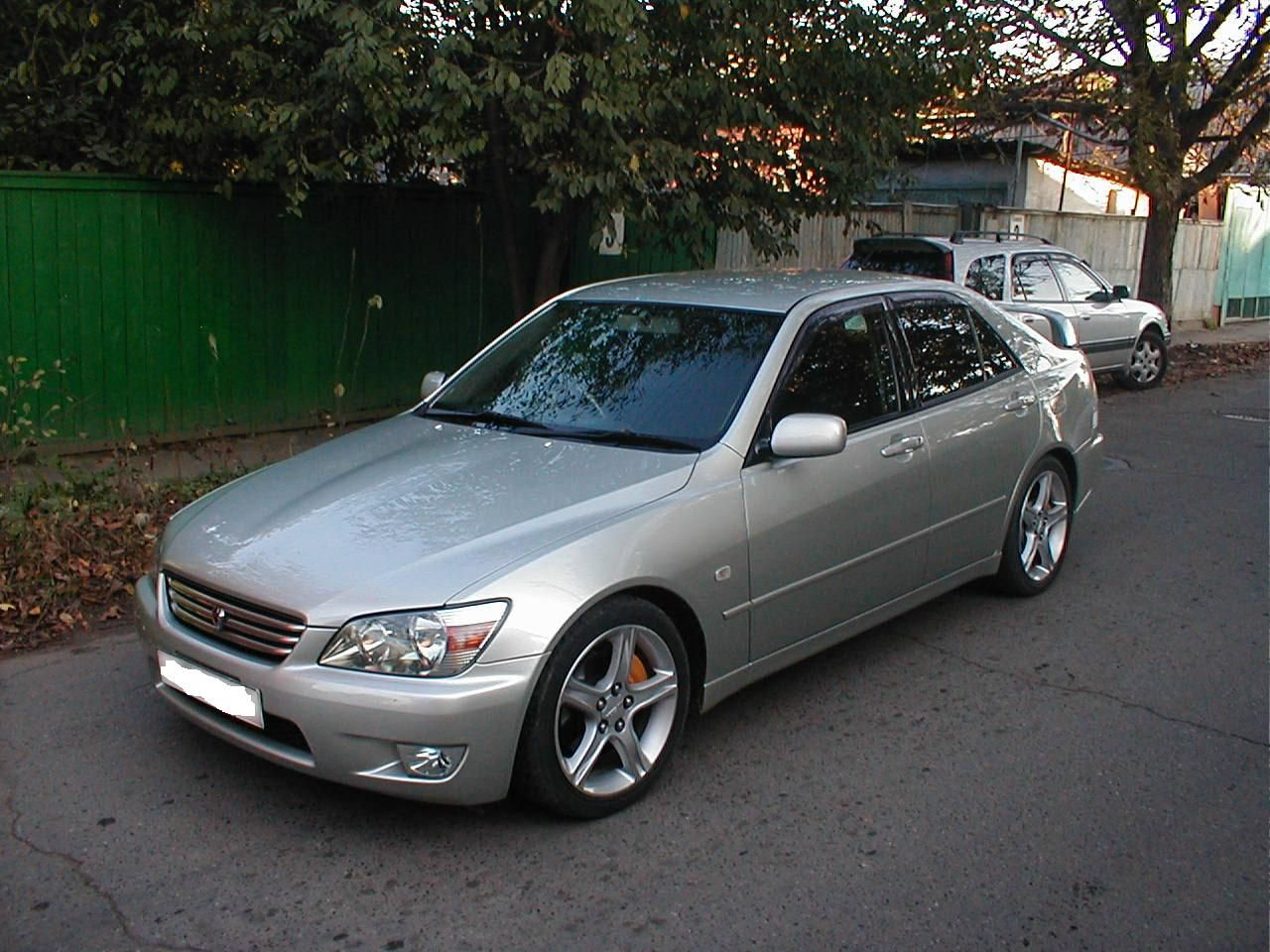 Gray Toyota Altezza Lexus Toyota Lexus Is300