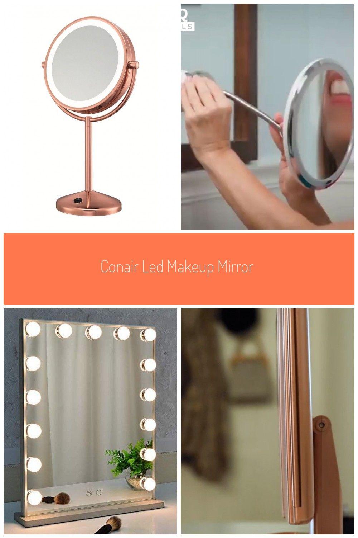 Conair Led Makeup Mirror 1x 10x Magnification Rose Gold