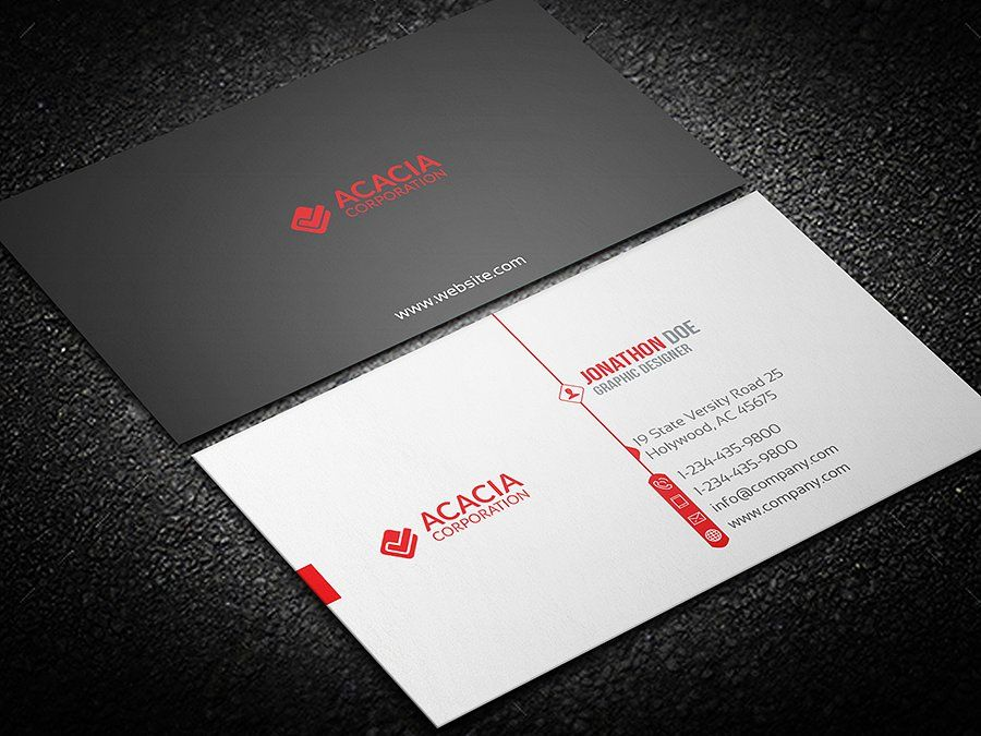 Business Card | Photoshop text, Business cards, Cards