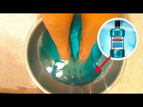 Mete tus pies en enjugue bucal por 30 minutos al día, cuando sepas el porque? te sorprenderás! - YouTube