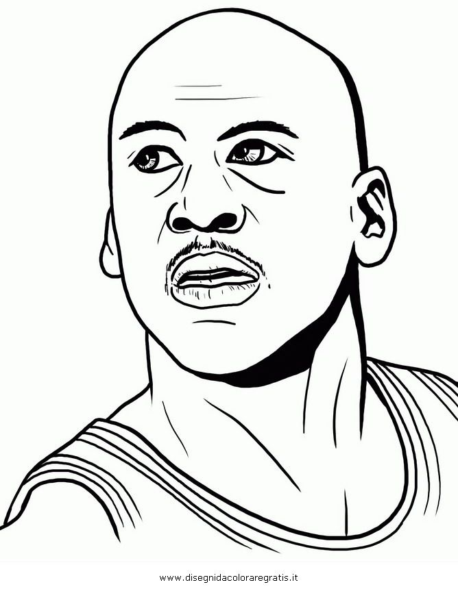 Michael Jordan Coloring Page   Google Search