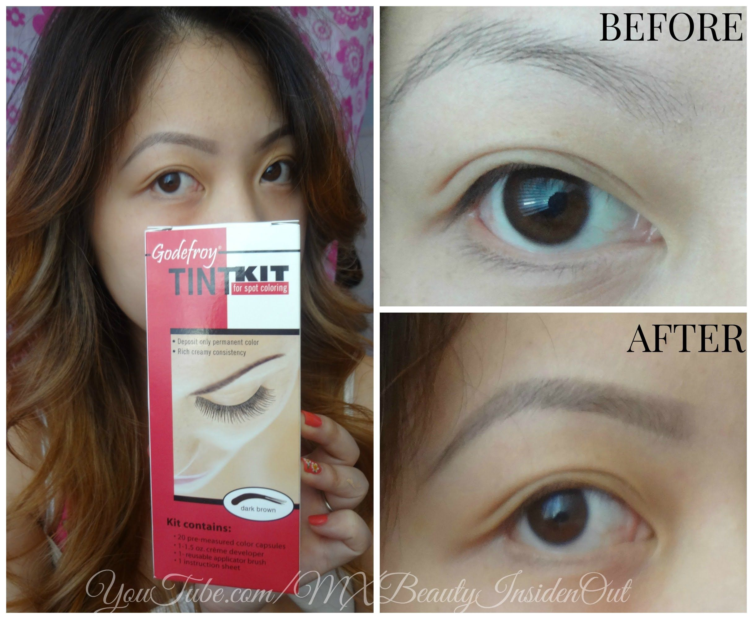 http://www.nihrida.com: Tinting Eyebrows with Refectocil Eyelash ...