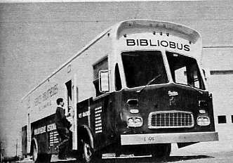 Bibliobus Mauricie 1964 Quebec Library