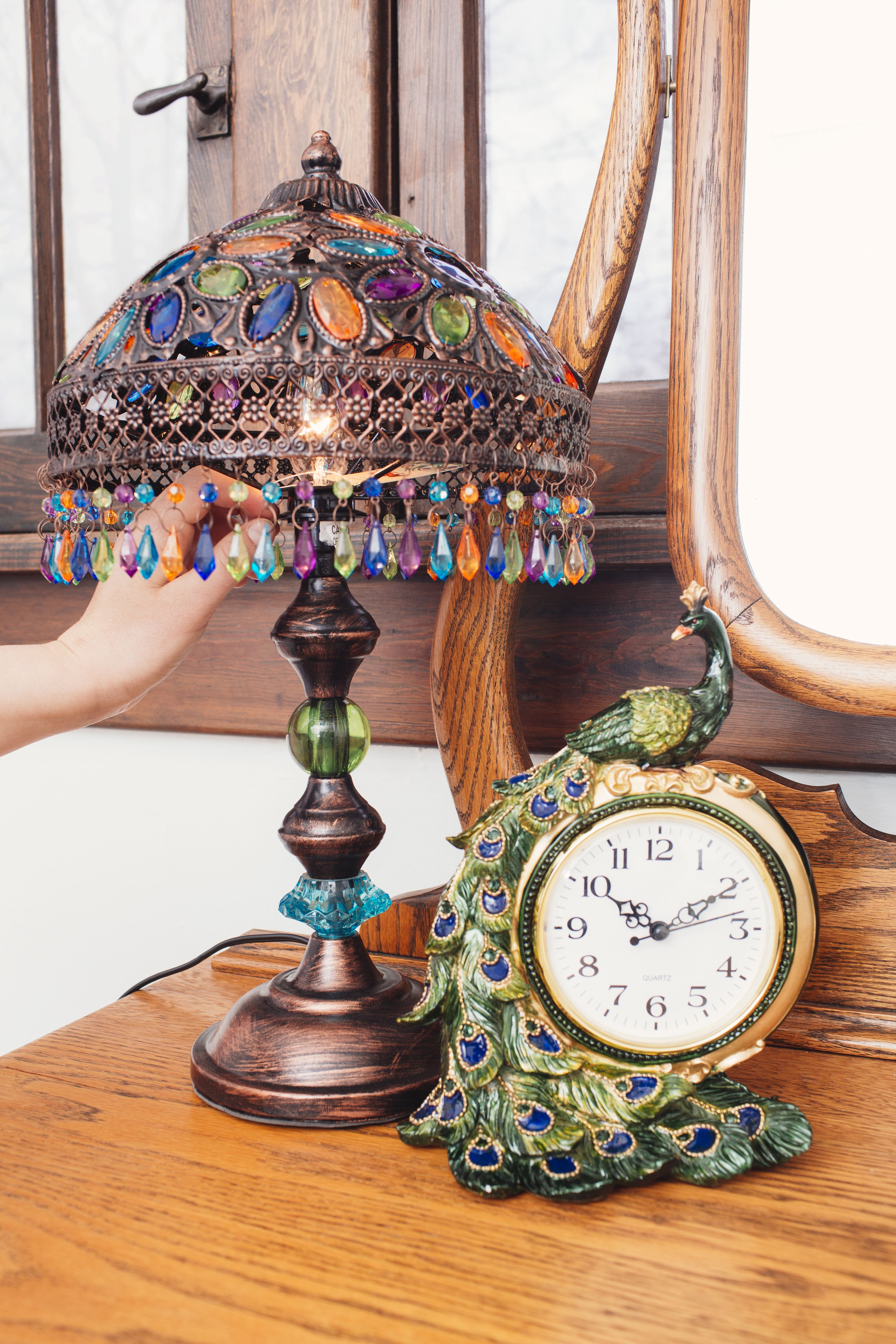 These Beautiful Pieces Will Look Timeless In Your Home Decor Add The Dazzling Colors Of The Peacock To Your Favorite Rooms Wit Home Decor Decor Cracker Barrel