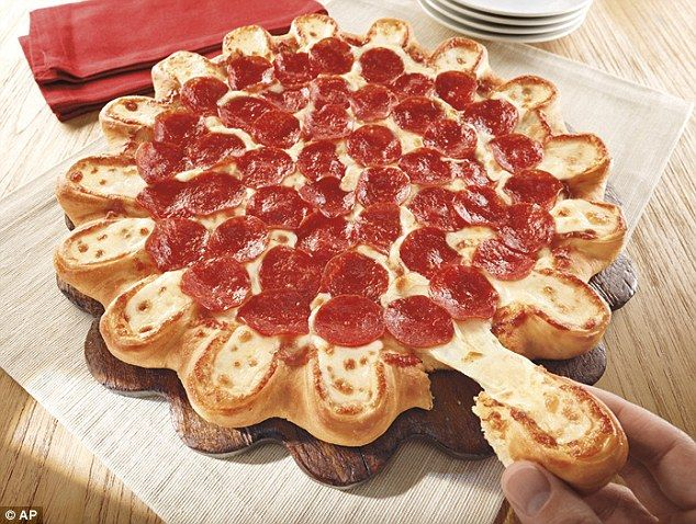 Pizza Hut offering another cheese-stuffed crust pi