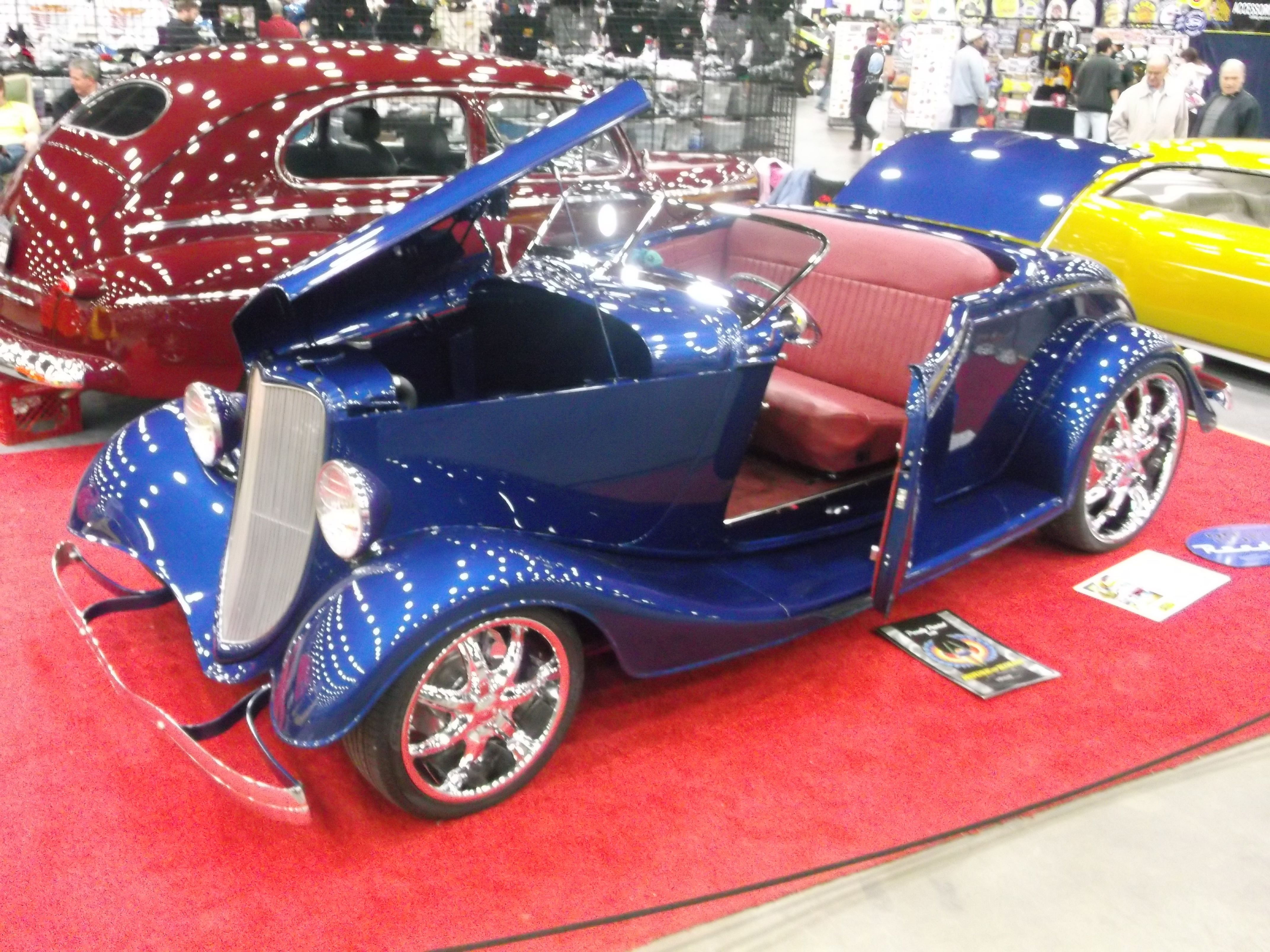 33 ford roadster lil 39 dickie 39 s pinstriping garage for Garage ford 33