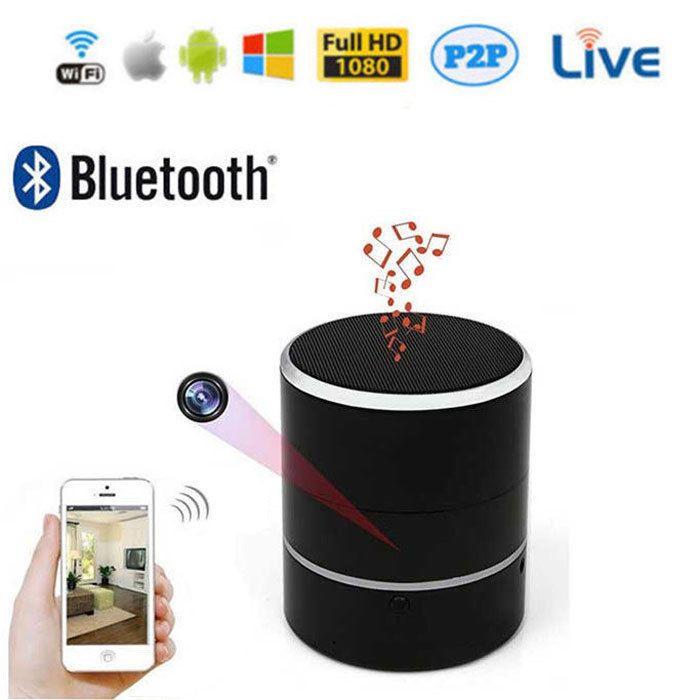 Wireless Bluetooth Speaker Secret Hidden Wifi 1080p Hd Video Recorder Spy Camera Ebay Link
