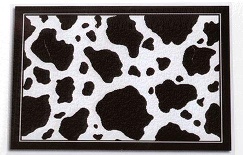Cow Home And Garden Decor Print Rug For Nursery