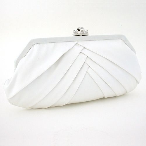 Handbags Ivory Wedding Clutch Purse