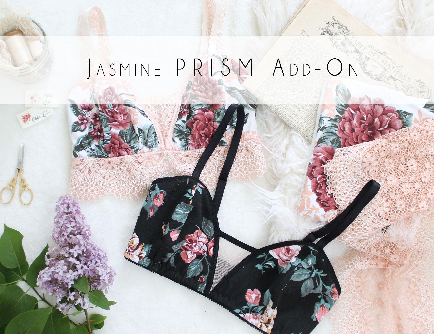 Jasmine PRISM Add-On   Patrones de costura, Ropa interior y Patrones