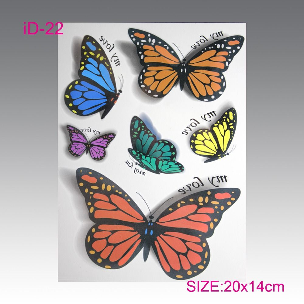 Wholesale hot flashes temporary tattoo d animation products