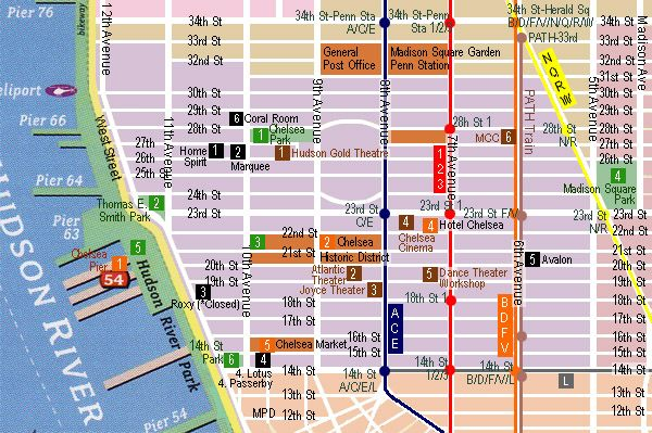 Musical Nyc Entertainment Off Off Off Broadway Theater Map Chelsea Map Of New York Nyc Map Nyc Entertainment