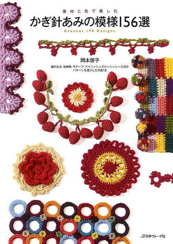 Japanese Craft Book KAZEKOBO/'S CROCHET LACE