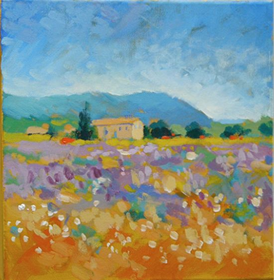 How To Paint Like Monet Acrylic Landscape Painting Lesson Part 3 Of 4 Video Will Kemp Art School Abstract Art Paintings Acrylics Landscape Paintings Acrylic Abstract Art Painting Techniques