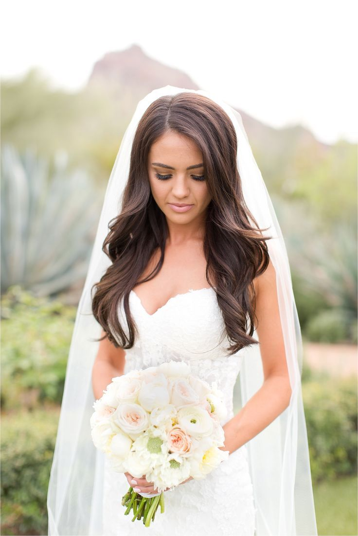 blush el chorro wedding in paradise valley, arizona | bridal hair