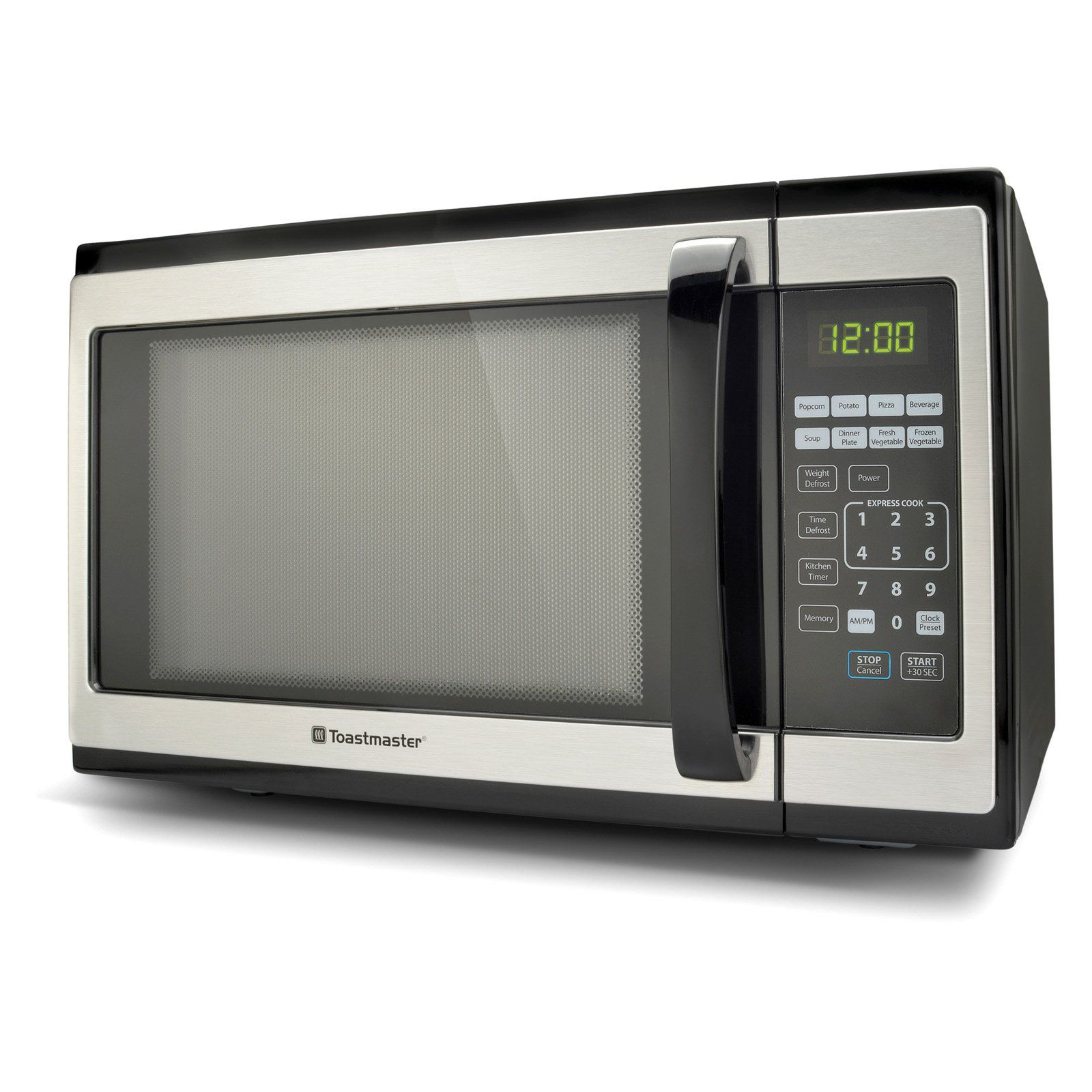 Toastmaster Tm 141em 1 4 Cu Ft Microwave Oven Stainless Steel