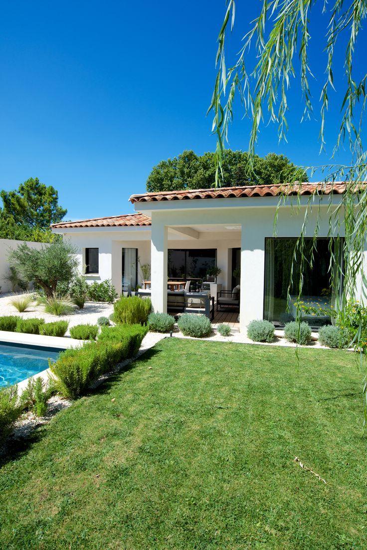 Esterno Casa Di Campagna mas provence - villa ligne contemporaine (con immagini